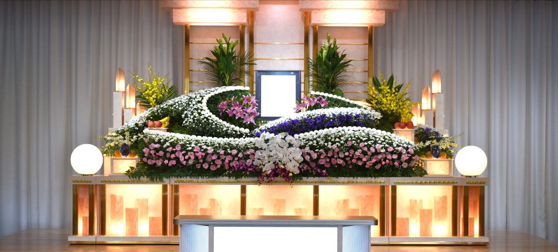 総合葬祭 紫恩 祭壇